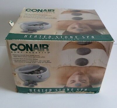 CONAIR body benefits heated stone spa relaxation therapy SYSTEM 'Open Box'