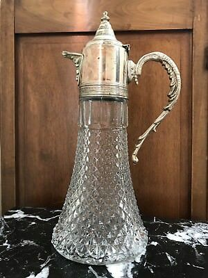 Antique Silver Wine Claret / Water Pitcher