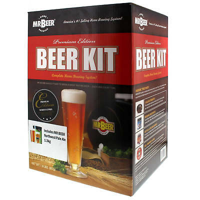 Mr Beer Craft Starter Kit All-In-One Beginners Includes Extract Can Home Brew