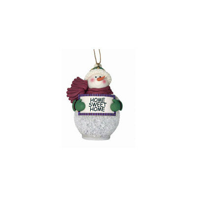 Spoontiques 410015  4 Light-Up Snowman Ornament Home Sweet Home