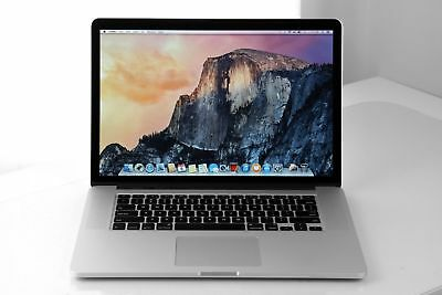 Apple Macbook pro 15 A1398 Retina 2013 Core i7 2.3Ghz 16GB 256GB SSD OSX Sierra