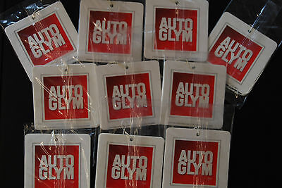 Autoglym Air Freshener X 10 Brand New Stock & Sealed With Free P&p!