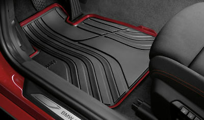 BMW Genuine All-Weather Rubber Front Car Floor Mats Sport F30/F31 - 51472339780