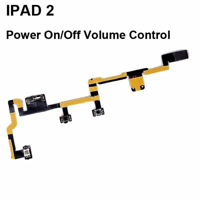 Replacement Power Switch On Off Volume Control Flex Cable Repair Part For iPad 2