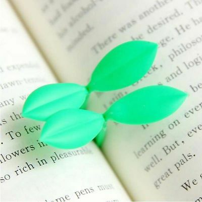 2 Pcs Leaves Accessories School Teachers Students Sprout Bookmark Book Marks
