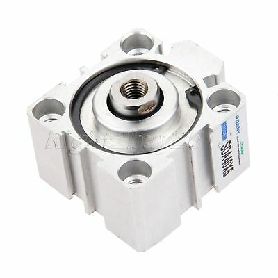 Durable Use Pneumatic Air Cylinder SDA40-5 40mm Bore 10mm Stroke Aluminum Alloy