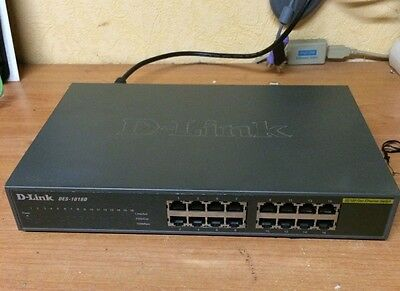 D-LINK DES-1016D Switch 16 ports ETHERNET 10/100 Mbps