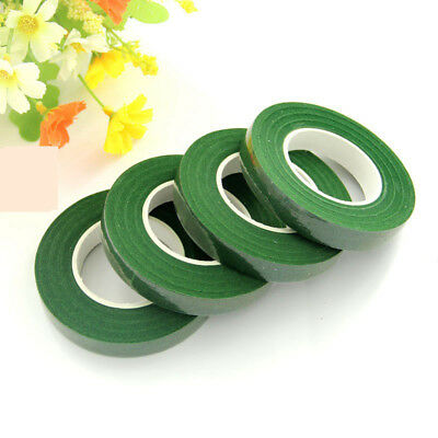 12mm 30 Yards Green Color Paper Tape Flower Butterfly Nylon Stocking Home Craft