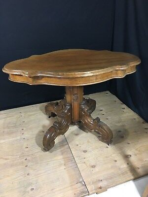 Antique Ornate Wooden Hall Table