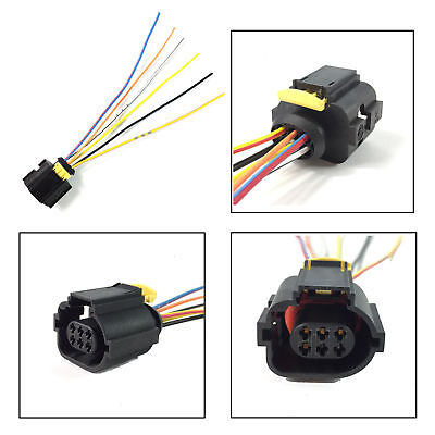 renault window switch plug female extension wiring harness loom 6 pin  connector