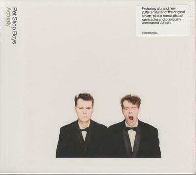 PET SHOP BOYS – ACTUALLY / FURTHER LISTENING 1987–1988 2CDs (NEW/SEALED)