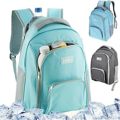 12L Insulated Cooling Backpack Picnic Camping Rucksack Beach Ice Cooler Bag