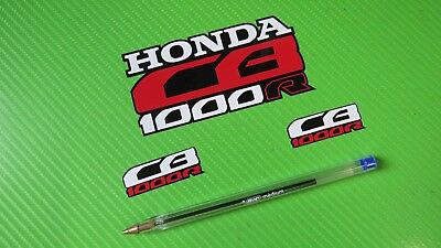 Decal Honda CB1000R stickers for Helmet and Visor kit  #204B