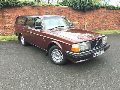 1984/A Volvo 240 GLE Estate 2.3 Manual 1 OWNER 86000 MILES