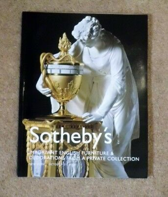 Sotheby's Important English Furniture & Decorations Private Colln. 21.10.2005