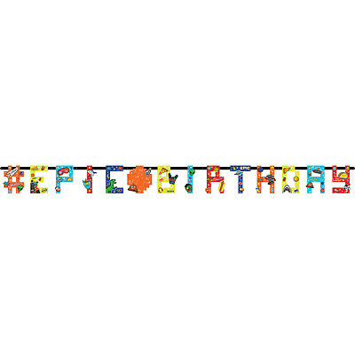 Epic Party Add an Age Jumbo Letter Banners 3.2m