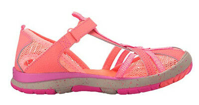 Merrell Girls Hydro Monarch Water Sandal Shoe Coral Youth Size 2 M