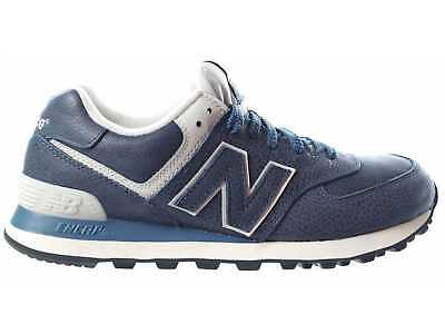 SCARPE NEW BALANCE ML574LUB 574 BLU BLUE sneakers snaker UOMO ORIGINALI