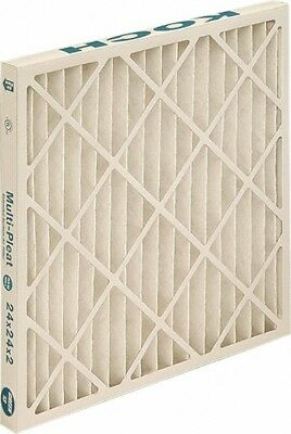 """Made in USA 25"""" Wide x 4"""" Deep Pleated Filter Synthetic, 24.2 Sq. Ft., 80 to ..."""