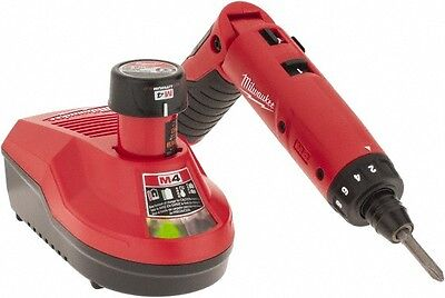 Milwaukee Tool 4 Volts, Lithium-Ion Battery, Swivel Handle Cordless Screwdriv...