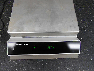 Mettler Pc16 Analytical Balance Scale