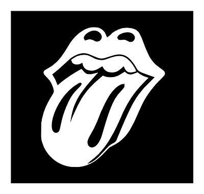 Rolling Stones Tounge Logo 6X6 Laptop Vinyl Car Truck Window Decal Sticker