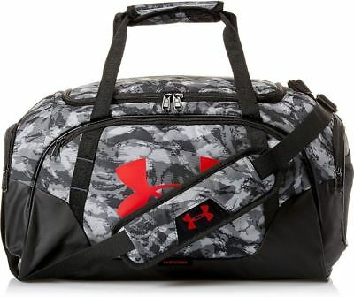 Under Armour Undeniable 3.0 XS Duffel Gym Bag Gray Black Camo Carry On Storm New