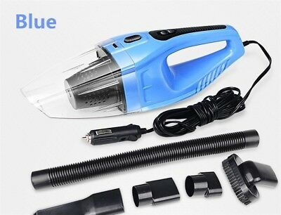 120W Portable Car Vacuum Cleaner Wet And Dry Dual Use Auto Cigarette Lighter Hep