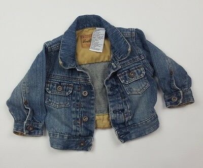 Levi Strauss Infant Size 12 Month Jean Jacket Button VTG Unisex
