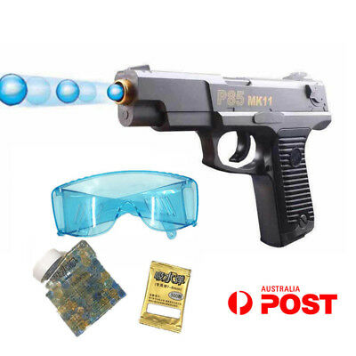 Plastic Gel Ball Blaster MK11 Manual Water Bullet Toy Gun Mag-fed Outdoor AU