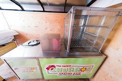 Churro Cart with Sink - Hot & Cold Water