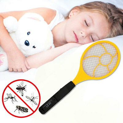 Electric Tennis Racket Practical Handheld Red Blue Trap Control Mosquito Killer