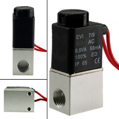 24V DC 1/4 Inch NPT Normally Closed Pneumatic Electric Solenoid Air Valve Switch