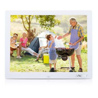 """15"""" inch HD LCD Digital Photo Frame Picture MP4 Movie MP3 Player Remote Control"""