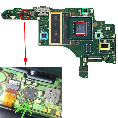 Console Motherboard Battery Charging IC Chip Parts for Nintendo Switch NS Switch