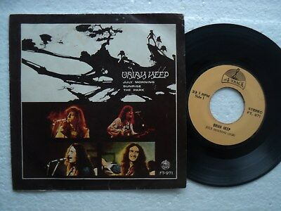 URIAH HEEP - July Morning + 2  - Rare THAILAND only 33 RPM EP  / P.Sleeve
