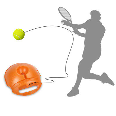 Portable Tennis Training Trainer Tool Exercise Ball Selfstudy Rebound Baseboard