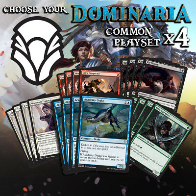 Choose Your Dominaria Common - Playset x4 cards - DOM MTG M/NM
