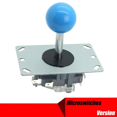 8 Way Arcade Joystick with Microswitches Replacement Parts For Mame Jamma Blue