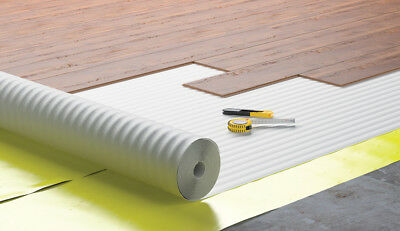 10m² -25m² - 2mm Acoustic Comfort White Underlay - Wood / Laminate Flooring