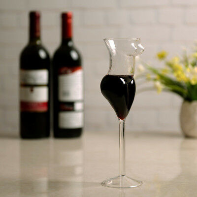 3X(Creative Cup Glass Human Wine Glass Sexy Female Body Cup Whiskey Glass V7P5)