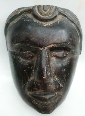 Antique Dance Mask Hard Wood -African-Mayan  $150