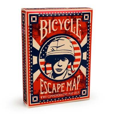 Bicycle Escape Map Playing Cards Secret Route Map Edition Poker Collectible Deck