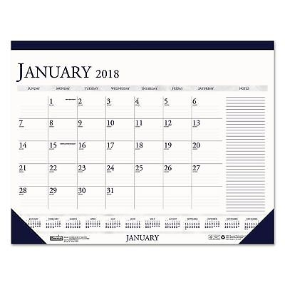 2018 Monthly Desk Calendar W/L Notes Section 18 1/2 X13 House Of Doolittle New!