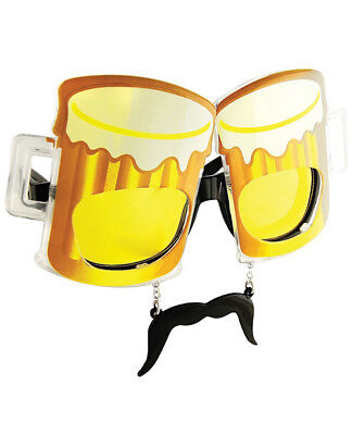 Sun Glasses Sun Staches Beer - Lot of 10