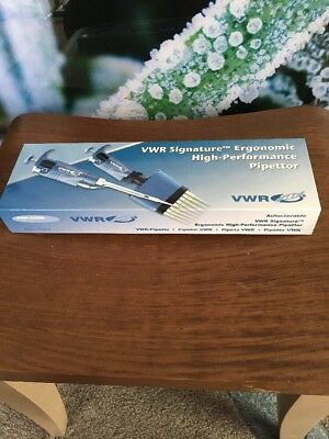 VWR Signature EHP Pipettor Variable Volume W/Ejector ,100-1000ul