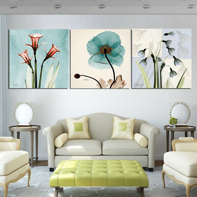 Nordic Plant Abstract Art Canvas Painting Wall Print Picture Poster Home Decor