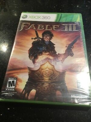 Fable 3 (Microsoft Xbox 360, 2010) Brand New Factory Sealed