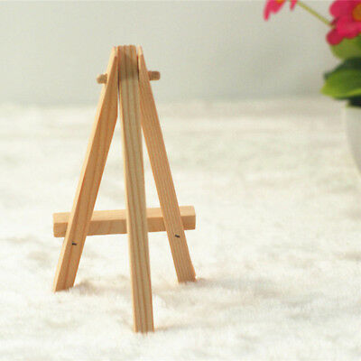 10pcs Mini Easel Wooden Art Painting Holder Artwork Display Drawing Boards Stand
