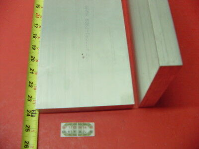 """3 Pieces 1"""" X 6"""" ALUMINUM 6061 FLAT BAR 24"""" long Solid Plate Mill Stock T6511"""